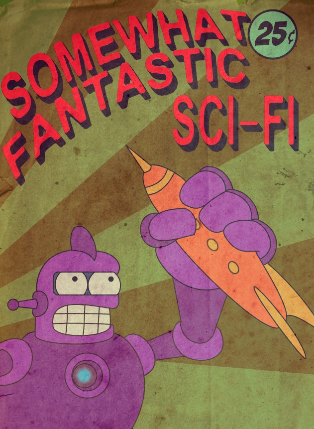 Futurama: Somewhat Fantastic Sci Fi by StranniChel