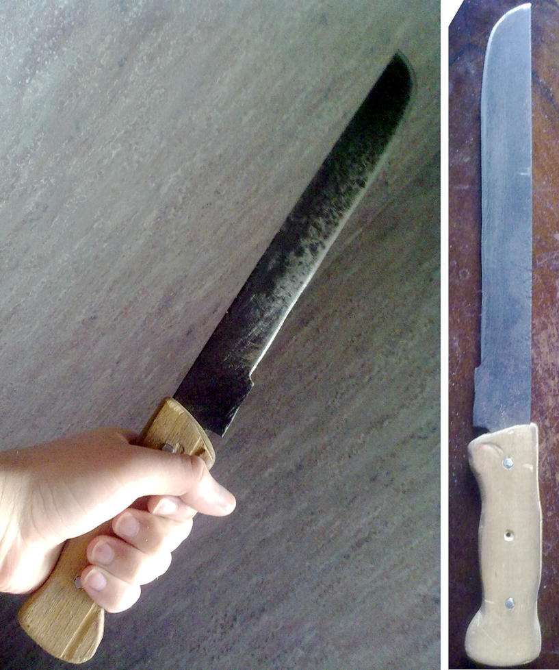 Rusty DIY Machete by StranniChel