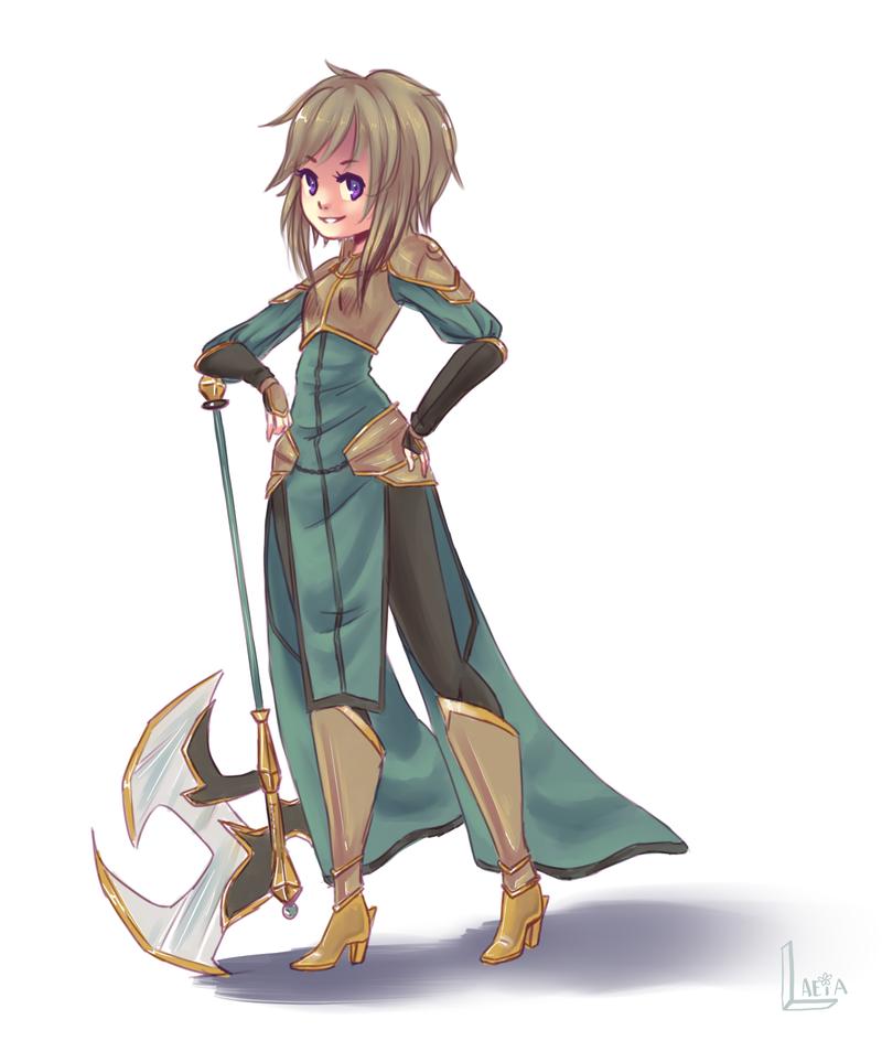 berzerker sketch by Anime-Angelz