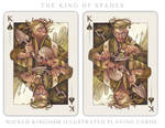 Card Art: The King of Spades
