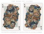 Card Art: The King of Clubs