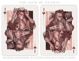 Card Art: The Jack of Hearts by wylielise