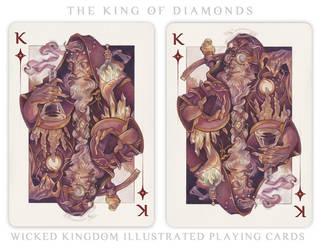 Card Art: The King of Diamonds by wylielise
