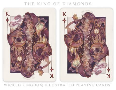 Card Art: The King of Diamonds