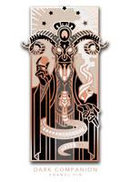 Dark Companion enamel pin by wylielise