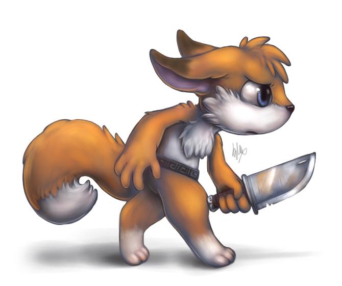 Foxxy warrior II by Silverfox5213