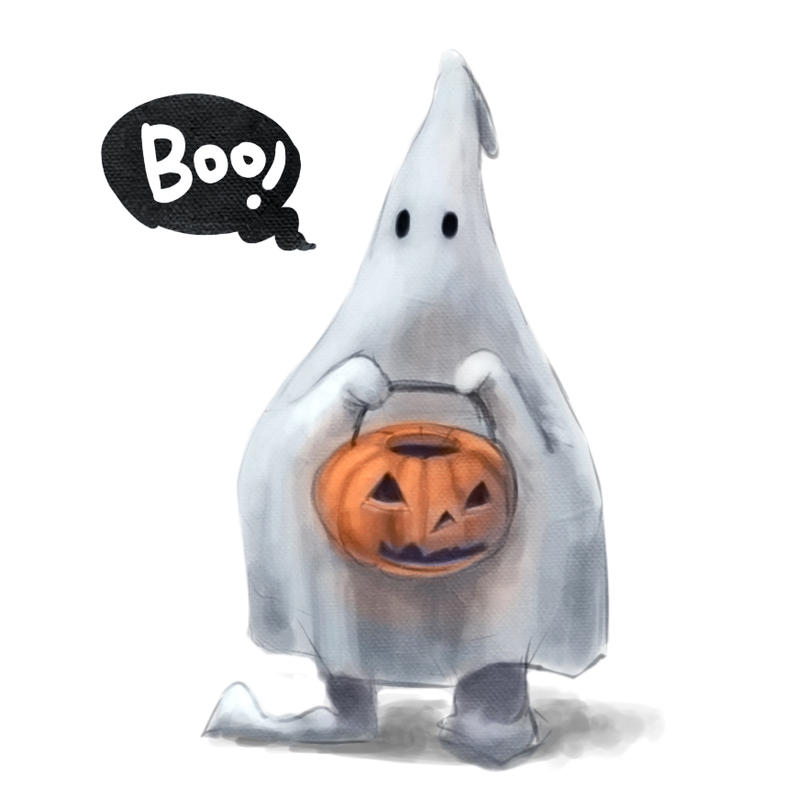 Boo by Silverfox5213