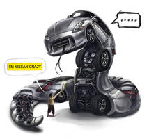 Nissan Car-toon crazy