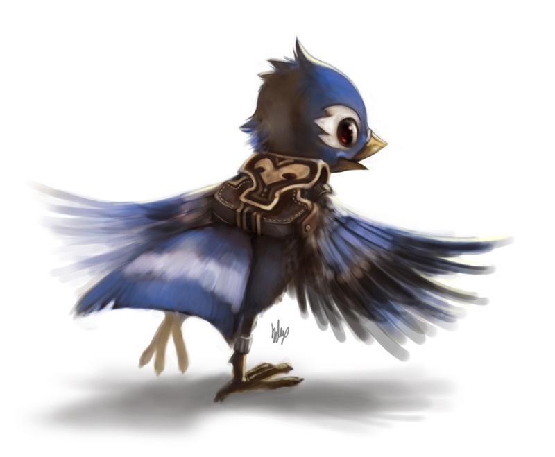 Birdie 2 by Silverfox5213