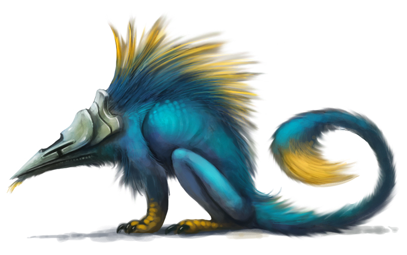 G pen creature by Silverfox5213