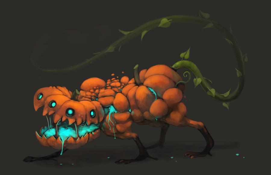 Pumpkin monster by Silverfox5213 on DeviantArt