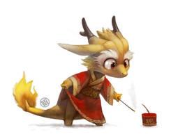 Dragon cracker by Silverfox5213