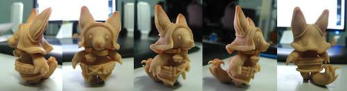 Second sculpt