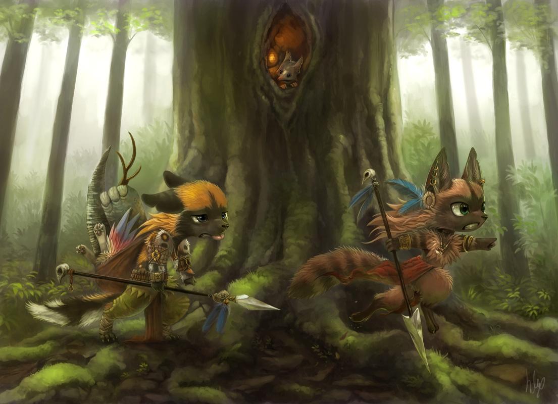 Commission for Kikivuli by Silverfox5213
