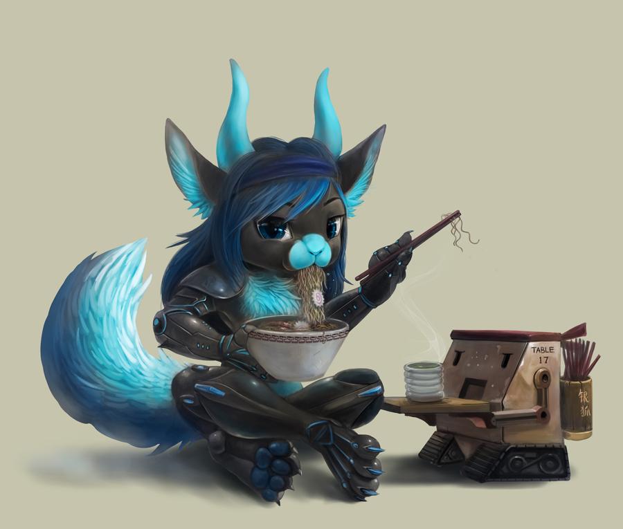 Commission for Rageki by Silverfox5213