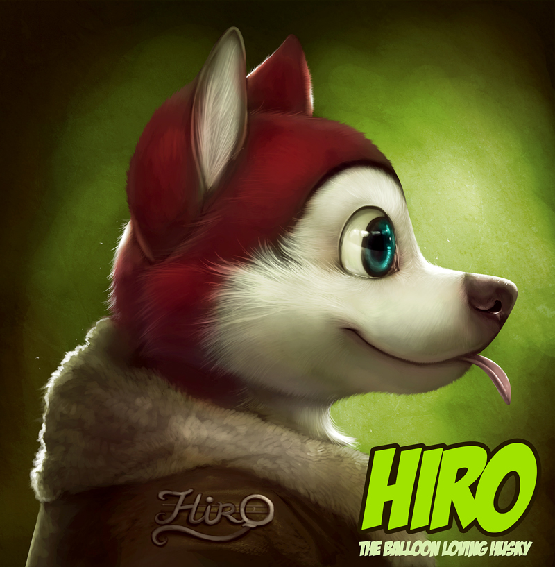 Badge for Hirohusky by *Silverfox5213