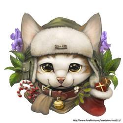 Kitty badge