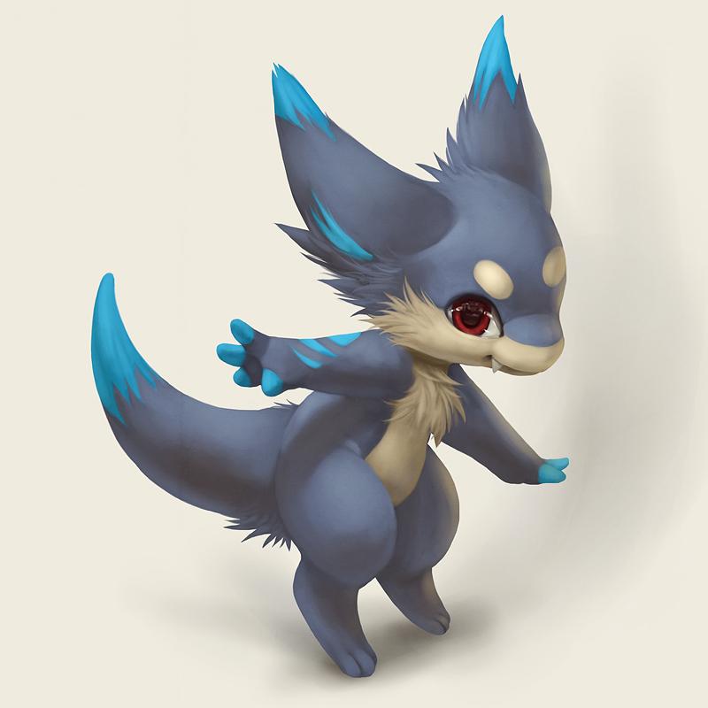Gift art for Radywolf by Silverfox5213