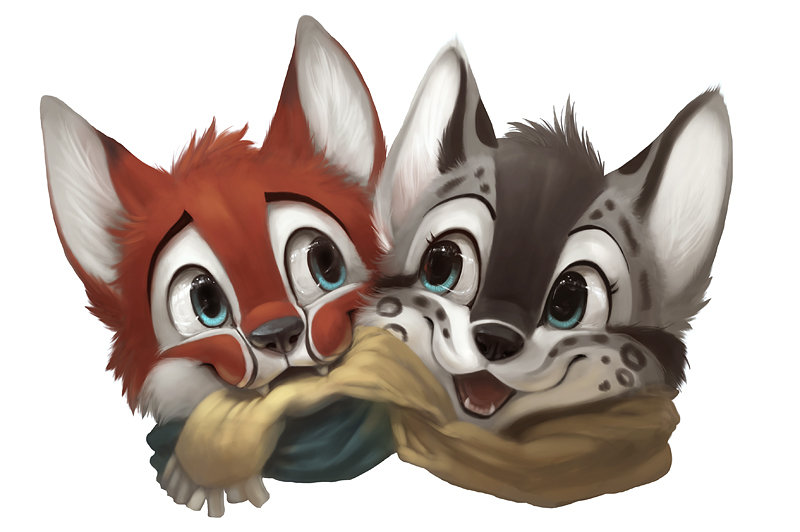Happy Animalsary by Silverfox5213