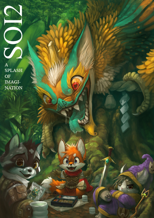 Artbook cover by Silverfox5213