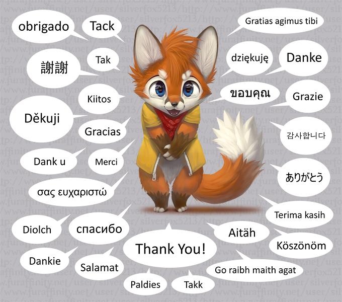 Thank you! by Silverfox5213