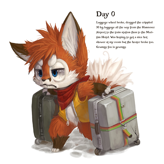 EF19 Diary : Day 0 by Silverfox5213