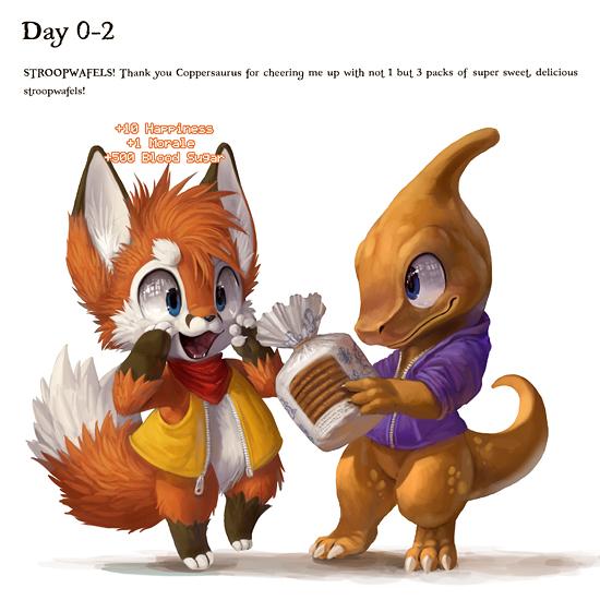 EF19 day 0-2 by Silverfox5213