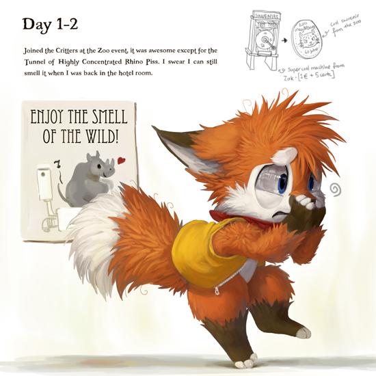 EF19 Diary Day 1-2 by Silverfox5213