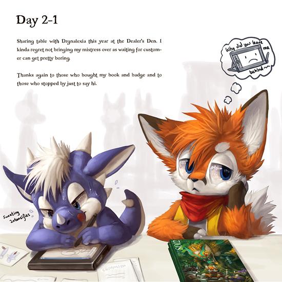 EF19 diary day 2-1 by Silverfox5213