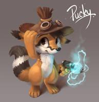 Pucky by Silverfox5213