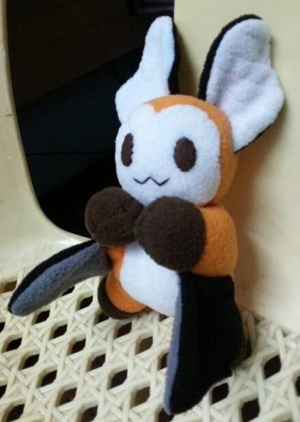 Batty plushie by Silverfox5213