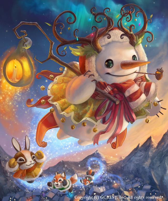 Magical Snowman (Advance) by Silverfox5213