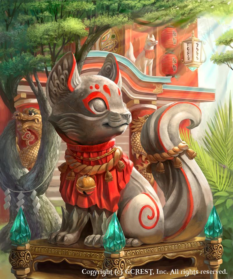Inari Statue by Silverfox5213