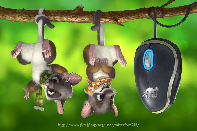 Possum pad by Silverfox5213