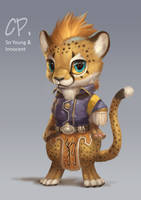 Art Trade with Cheetahpaws by Silverfox5213