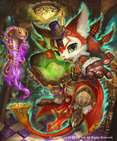 Cat Bunny (Advance) by Silverfox5213
