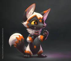 Silver fox by Silverfox5213
