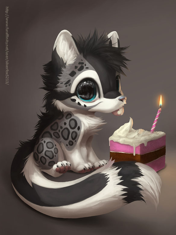 Birthday Schnolf by Silverfox5213