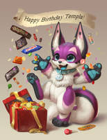 Birthday gift for Templa by Silverfox5213