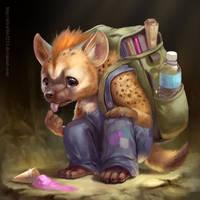 Poor Hyena by Silverfox5213