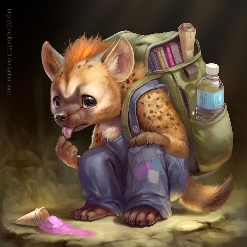 Poor Hyena By Silverfox5213 On Deviantart