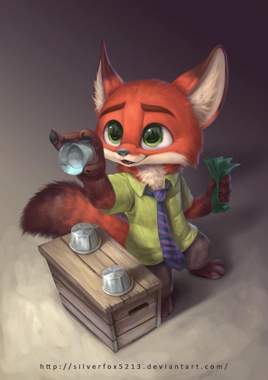 Lil Con Fox by Silverfox5213