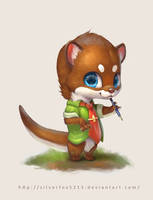 Random Otter by Silverfox5213