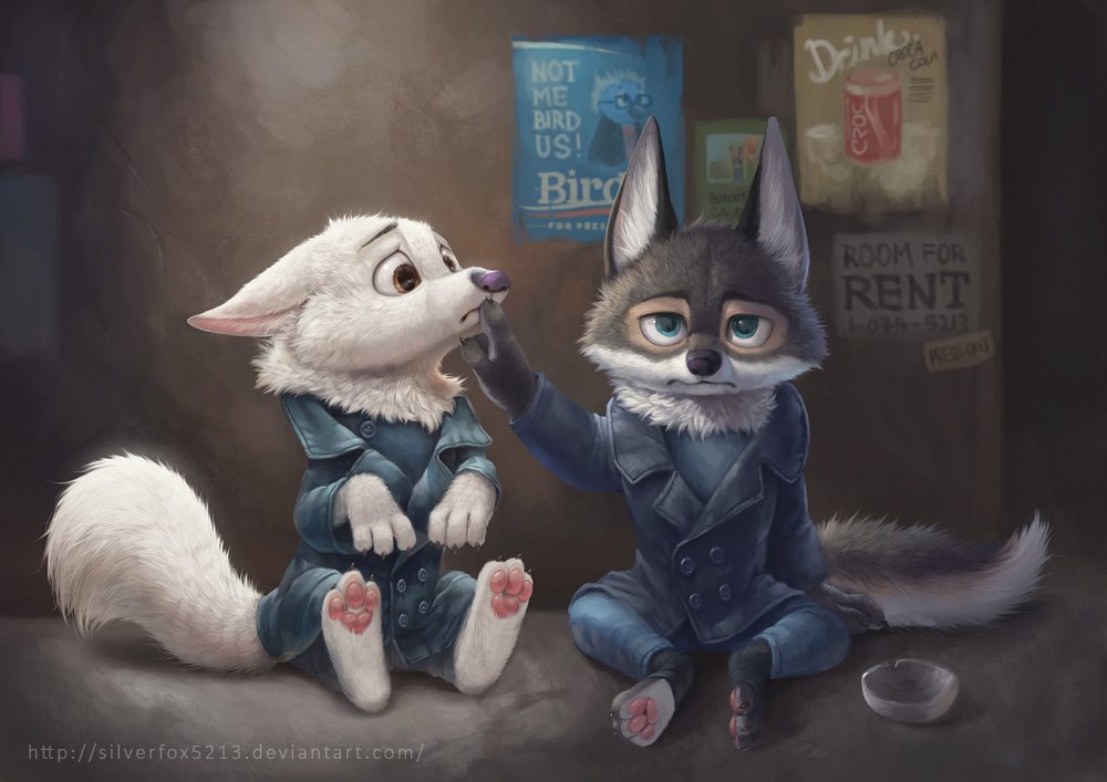Zootopia Wolves by Silverfox5213 on DeviantArt Raccoon Drawing