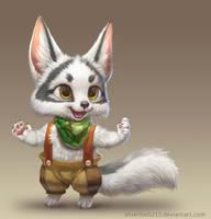 Arctic Marble Fox by Silverfox5213
