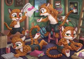 Zootopia Tigers by Silverfox5213