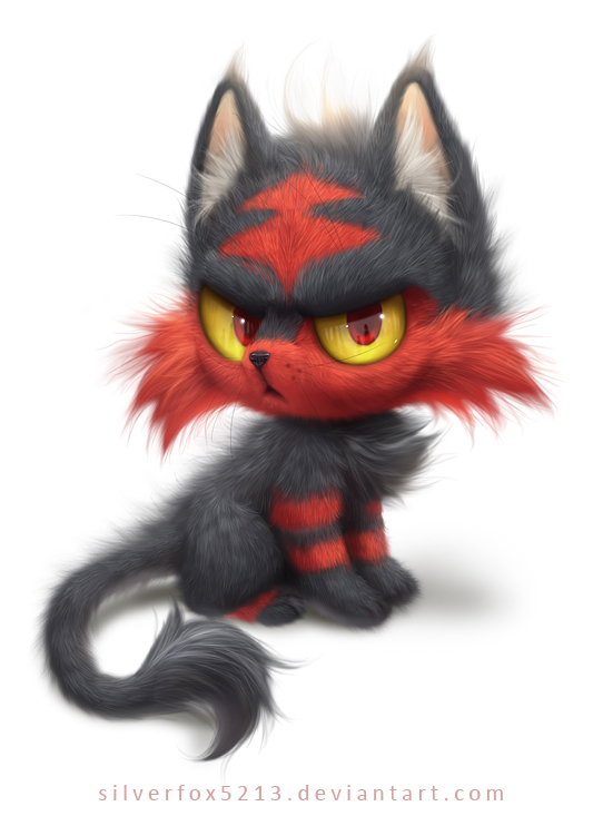 World Of (New) Nintendo (3DS XL) Litten_copy_by_silverfox5213-darwoo1