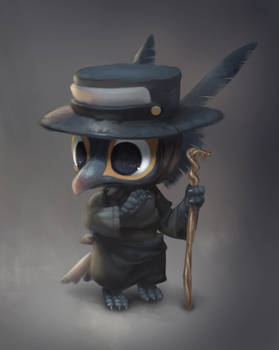 Smol Plague Doctor