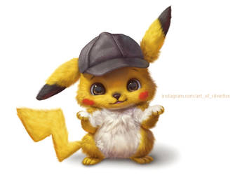 Detective Pikachu by Silverfox5213