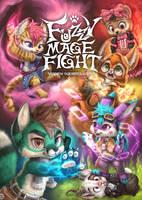 Fuzzy Mage Fight by Silverfox5213